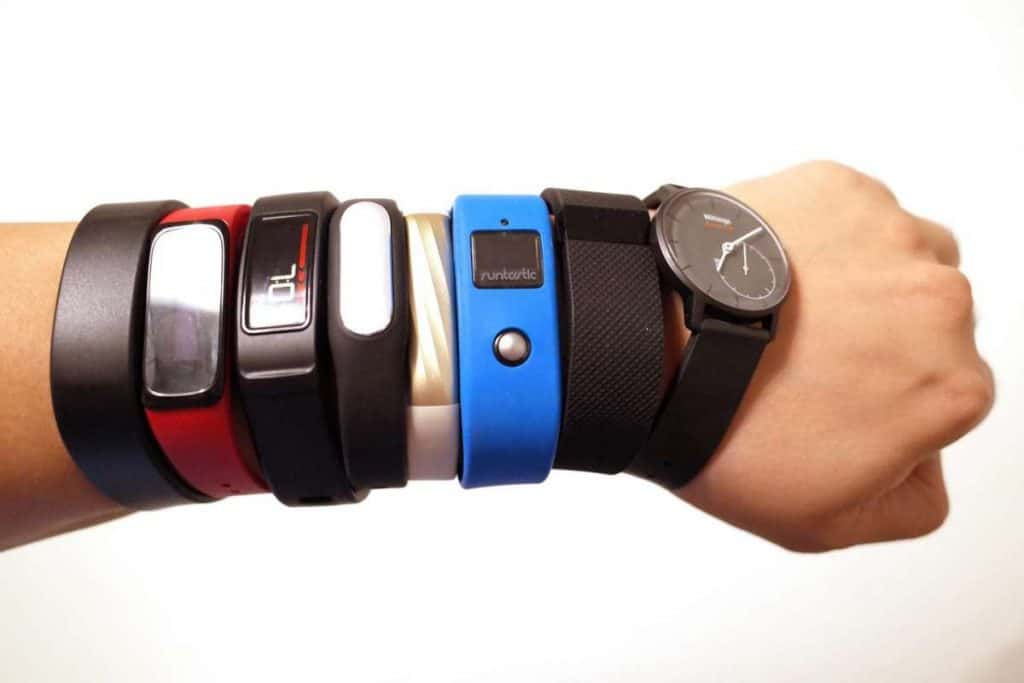 Which sports use fitness watches