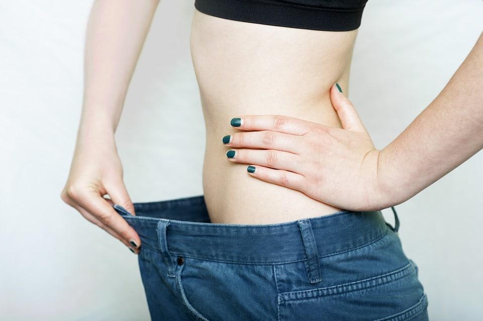 slim waist oversize pants
